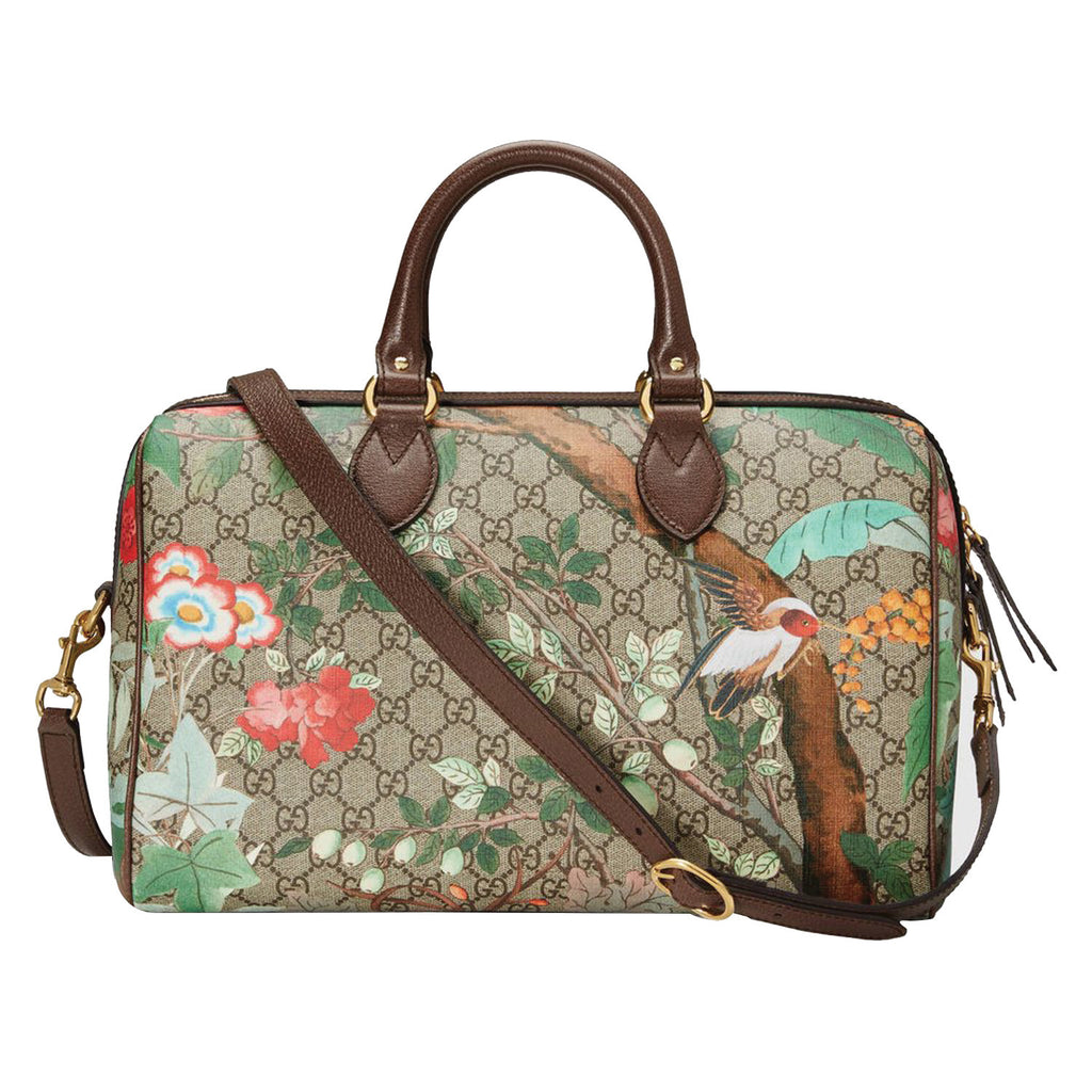 Gucci Tian GG Supreme Boston Bag Bags Gucci - Shop authentic new pre-owned designer brands online at Re-Vogue