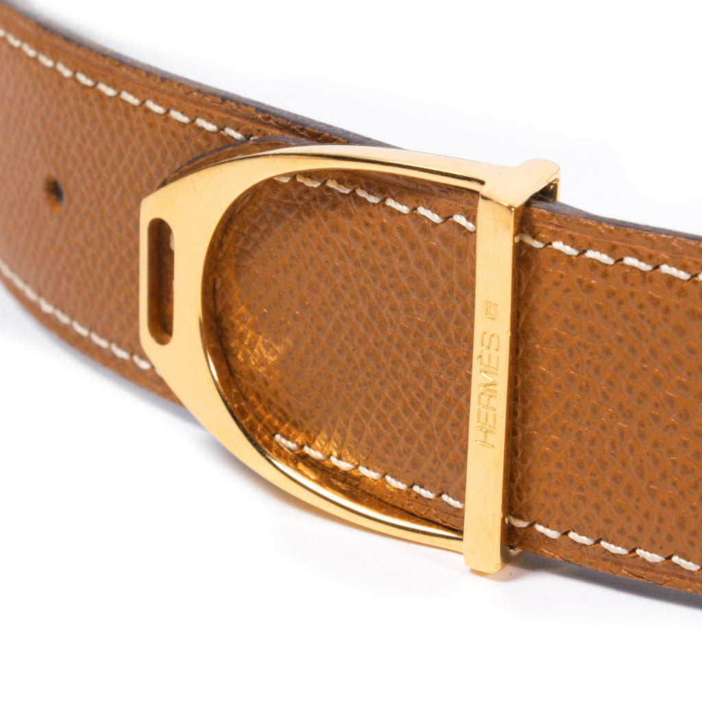 Hermes Étier Belt Accessories Hermès - Shop authentic new pre-owned designer brands online at Re-Vogue