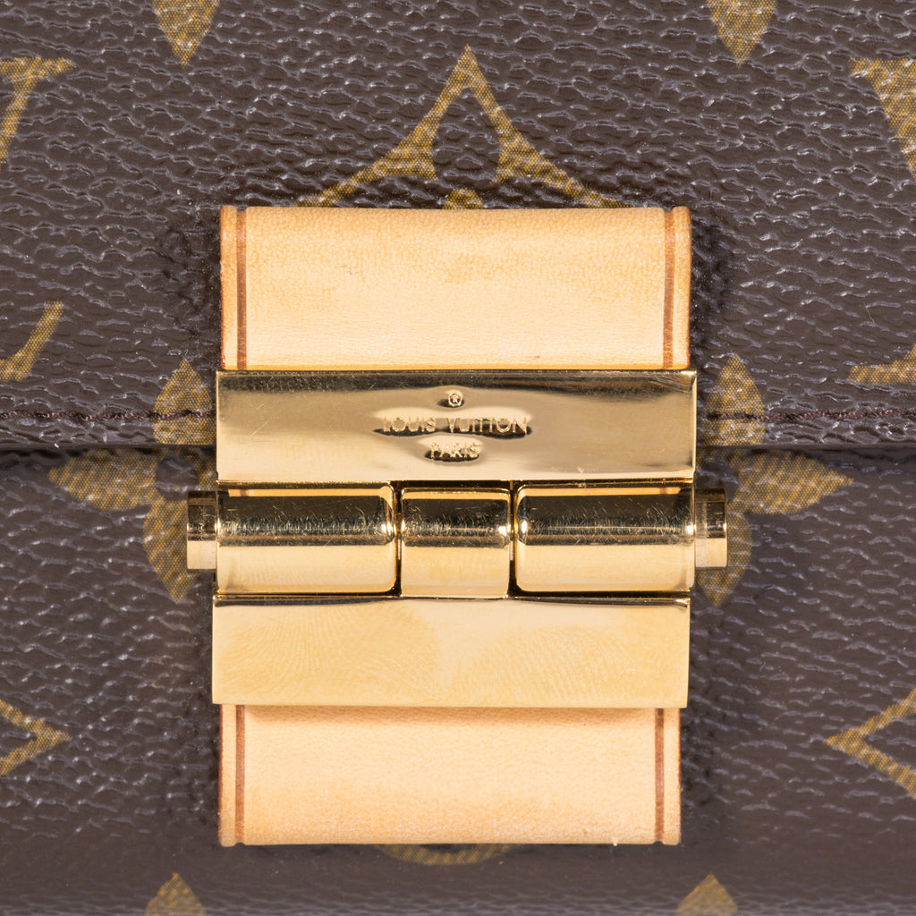 Louis Vuitton Elysee Clutch -Shop pre-owned luxury designer brands on discount online at Re-Vogue