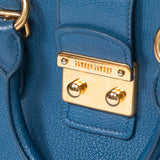 Miu Miu Pebbled Leather Satchel - revogue