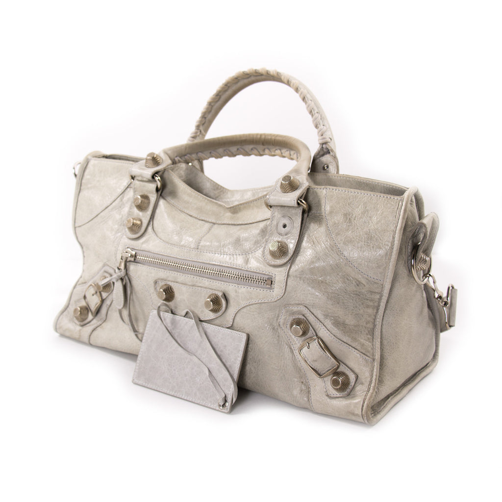 Balenciaga Giant Part-Time Leather Bag Bags Balenciaga - Shop authentic new pre-owned designer brands online at Re-Vogue