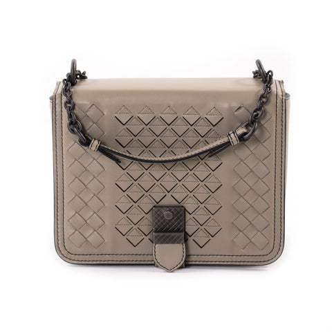Chanel Quilted Suede Flap Bag