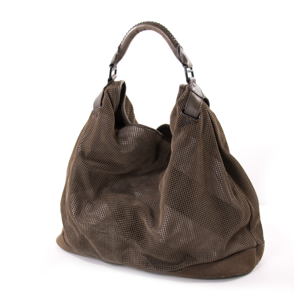 e2f28c6230a ... Burberry Perforated Oversized Hobo Bags Burberry - Shop authentic new  pre-owned designer brands online ...