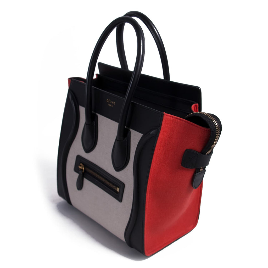 Celine Micro Luggage Tote Bag Bags Celine - Shop authentic new pre-owned designer brands online at Re-Vogue