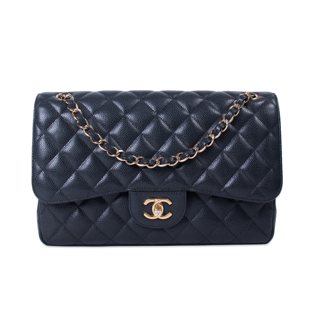 44fb1ec03cfd Shop authentic Chanel Classic Jumbo Double Flap Bag at revogue for ...