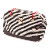 Chanel Fabric Camera Canvas Shoulder Bag Bags Chanel - Shop authentic new pre-owned designer brands online at Re-Vogue