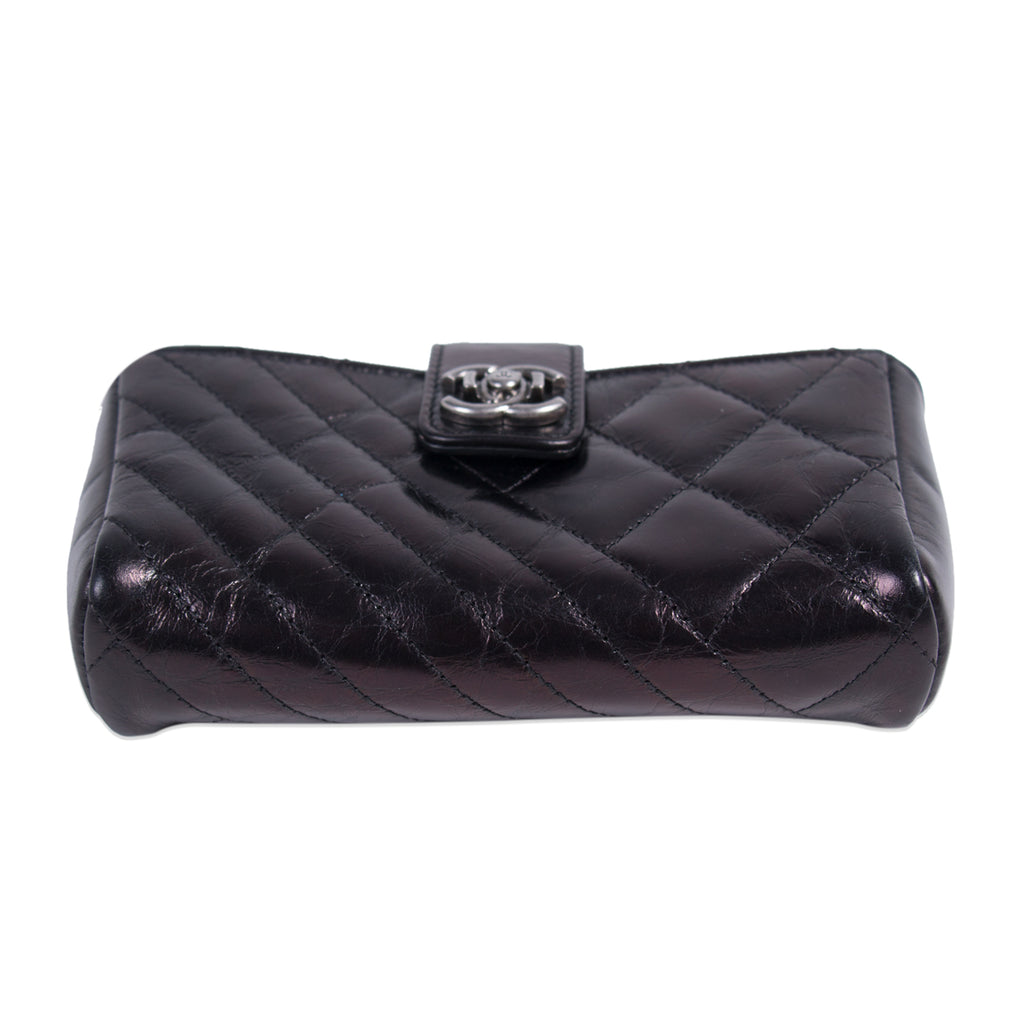 Chanel Quilted Leather O-Phone Holder Accessories Chanel - Shop authentic new pre-owned designer brands online at Re-Vogue