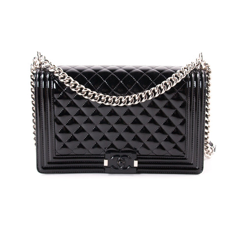 Saint Laurent Monogram Large Quilted Leather