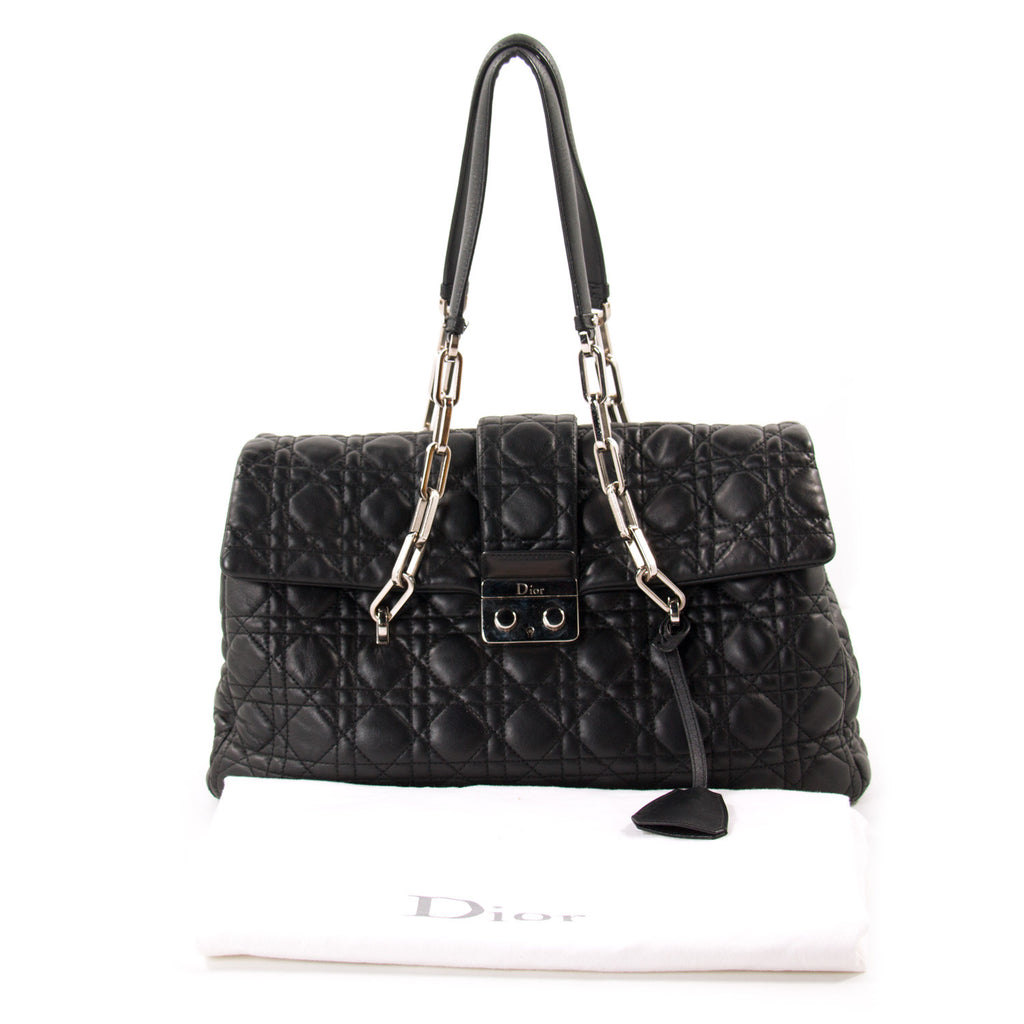 Christian Dior New Lock Large Flap Bag Bags Dior - Shop authentic new pre-owned designer brands online at Re-Vogue
