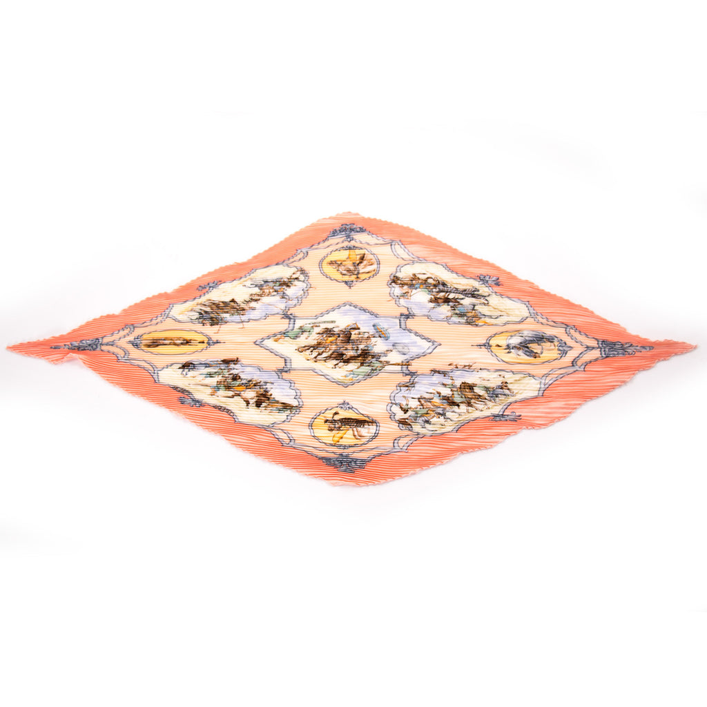 Hermes Les Cheavaux Des Moghols Printed Silk Scarf Accessories Hermès - Shop authentic new pre-owned designer brands online at Re-Vogue