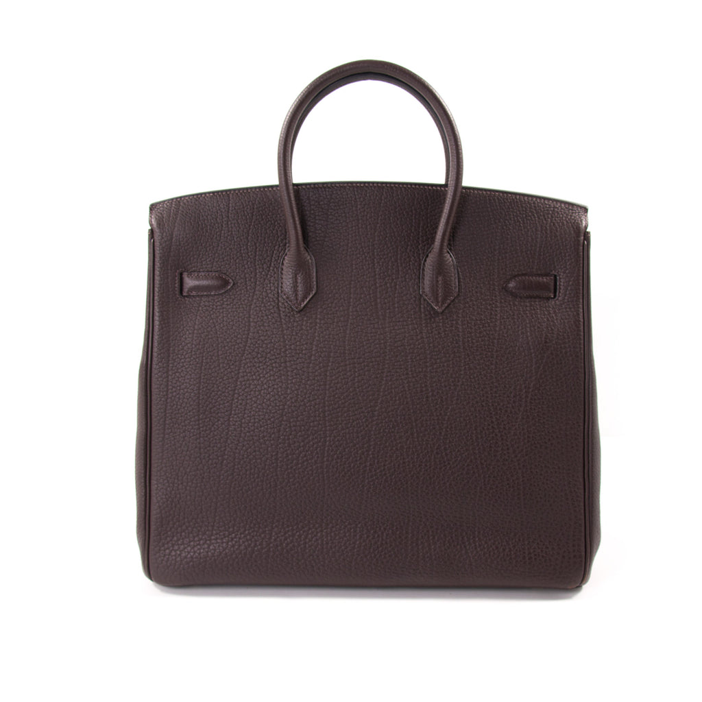 Hermès Birkin 36 HAC Cafe Fjord Leather Bags Hermès - Shop authentic new pre-owned designer brands online at Re-Vogue