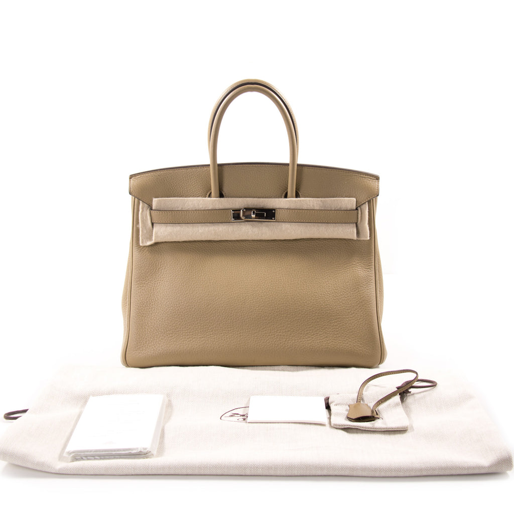 122c824abf2 Hermès Birkin 35 Tabac Clemence Bags Hermès - Shop authentic new pre-owned  designer brands ...