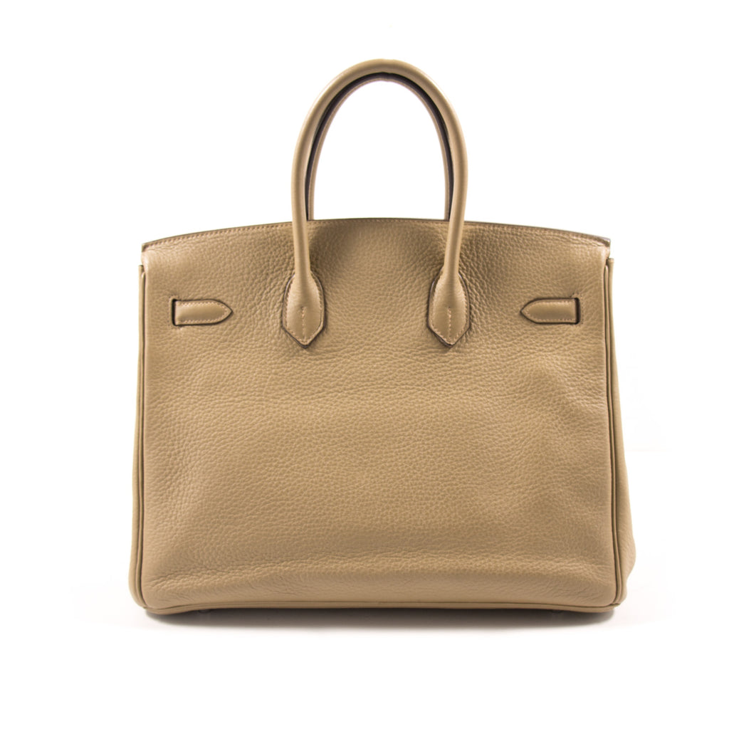 83fd7e453f46 ... Hermès Birkin 35 Tabac Clemence Bags Hermès - Shop authentic new pre-owned  designer brands ...