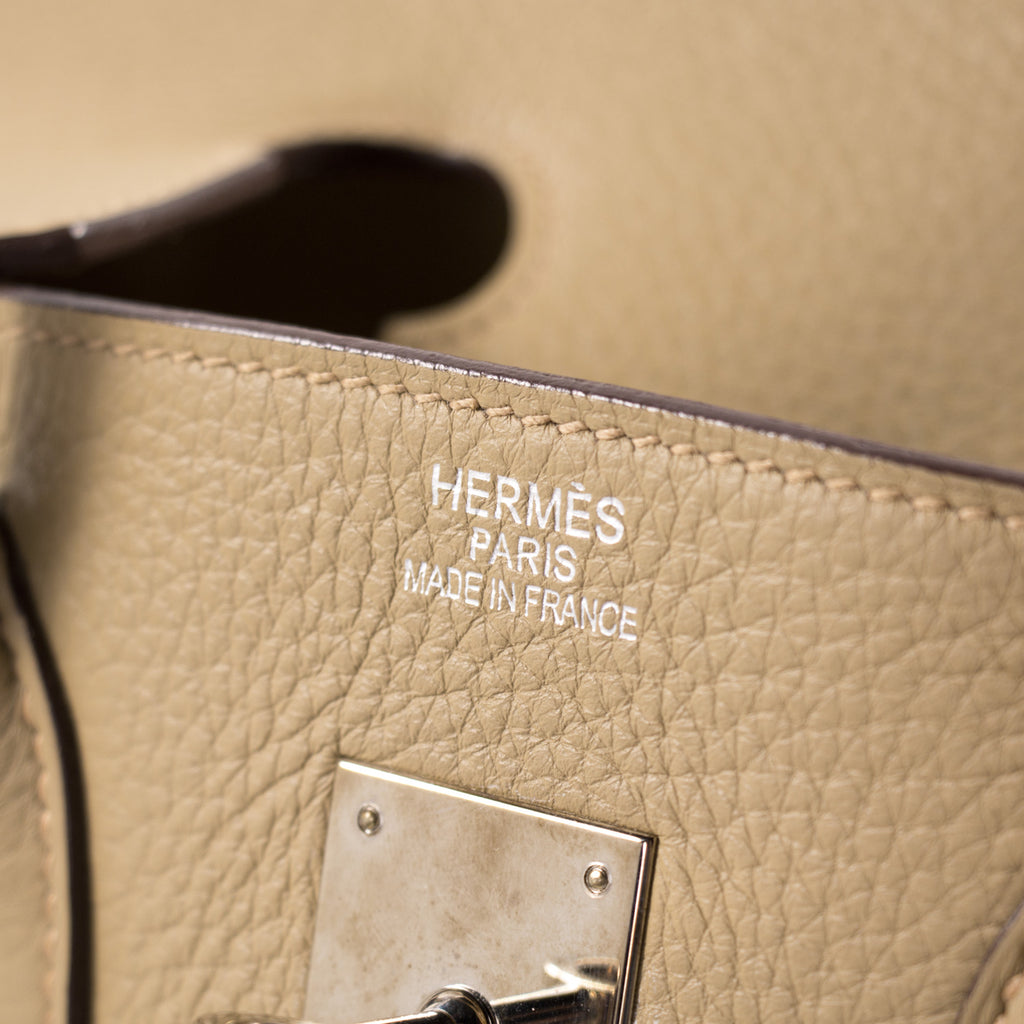 Hermès Birkin 35 Tabac Clemence Bags Hermès - Shop authentic new pre-owned designer brands online at Re-Vogue