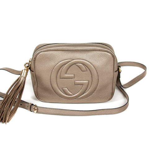 Gucci GG Interlocking Leather Belt