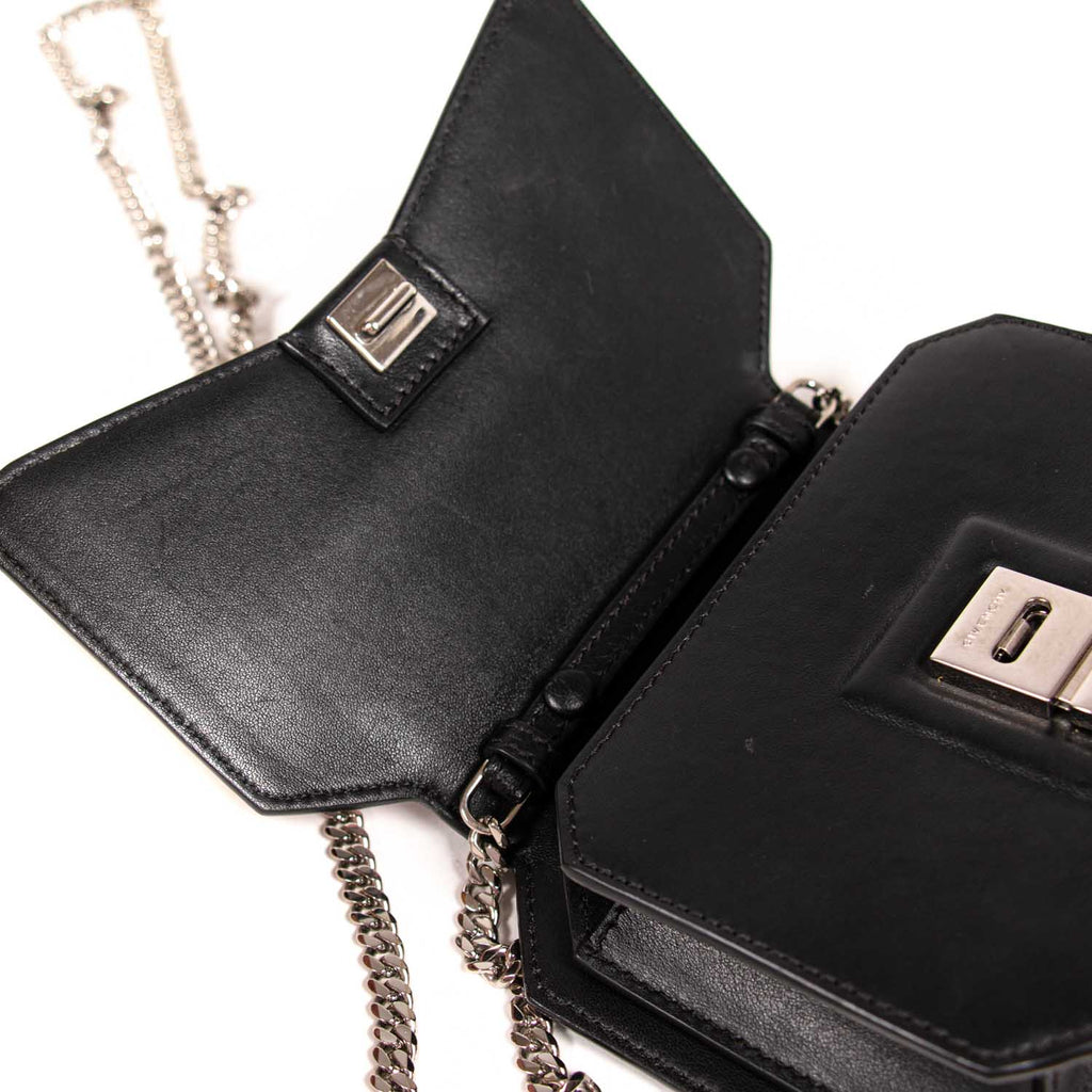Givenchy Mini Bow Cut Cross Body Bag