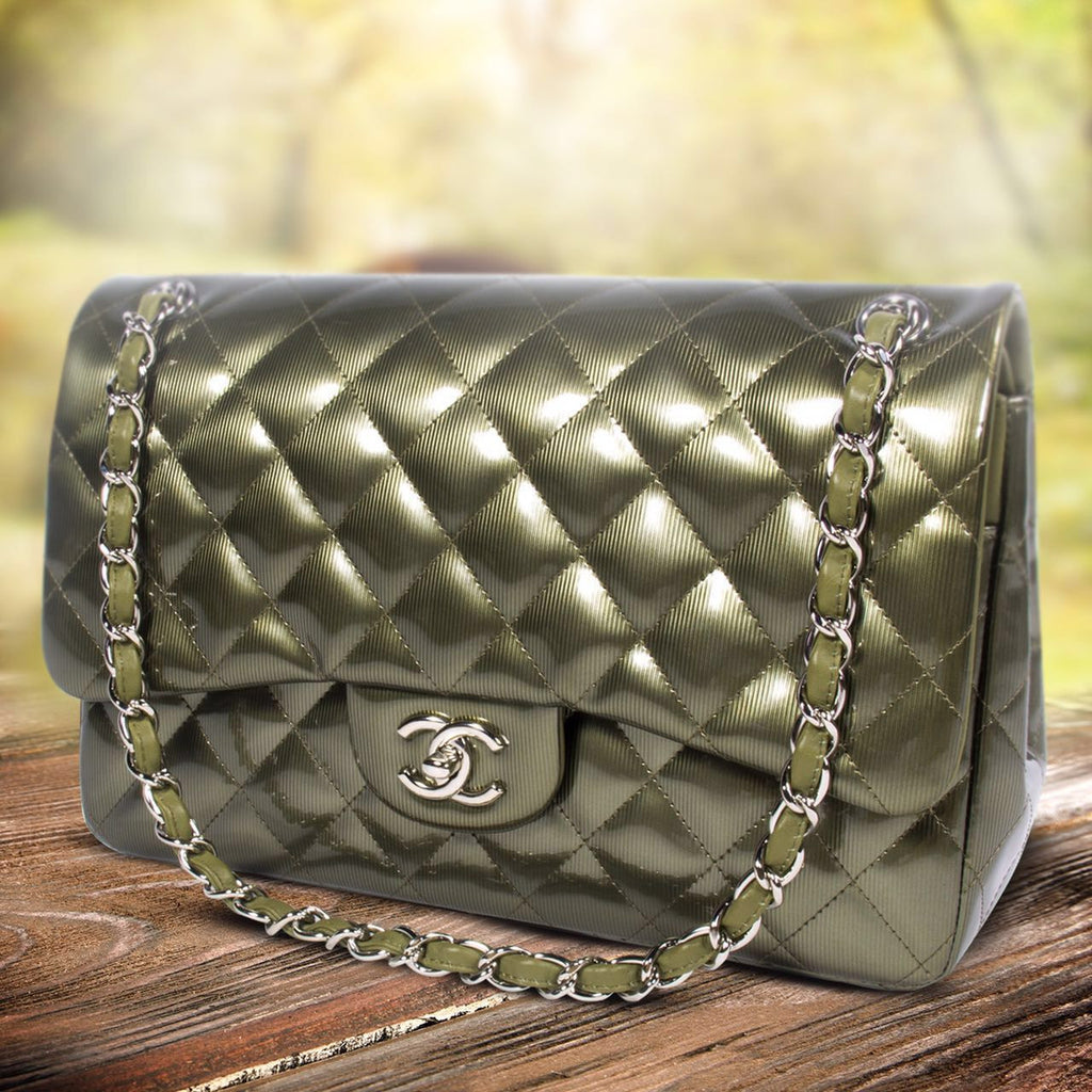 Chanel Classic Jumbo Double Flap -Shop pre-owned luxury designer brands on discount online at Re-Vogue
