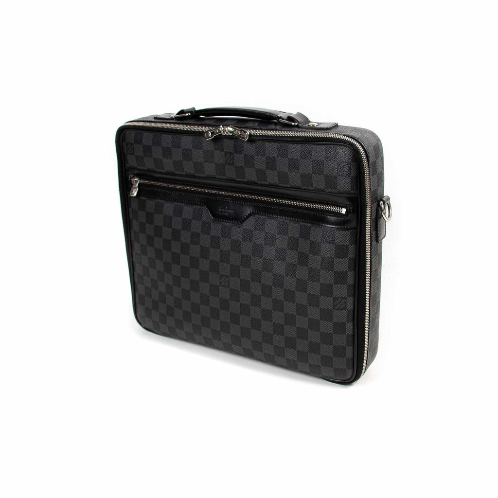 Louis Vuitton Damier Graphite Steeve Bag Bags Louis Vuitton - Shop authentic new pre-owned designer brands online at Re-Vogue