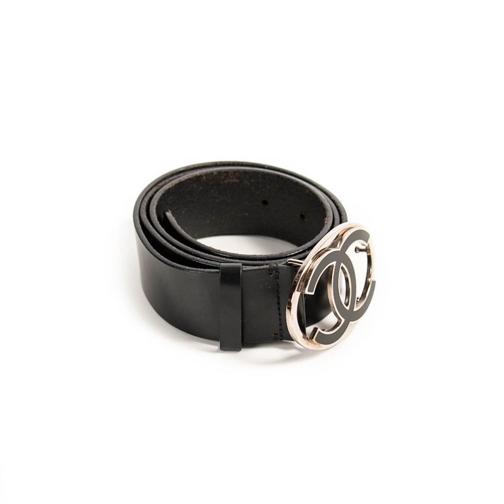 Chanel CC Leather Belt Accessories Chanel - Shop authentic new pre-owned designer brands online at Re-Vogue