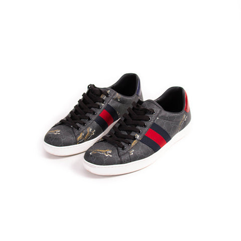 Louis Vuitton Leather Luxembourg Sneakers