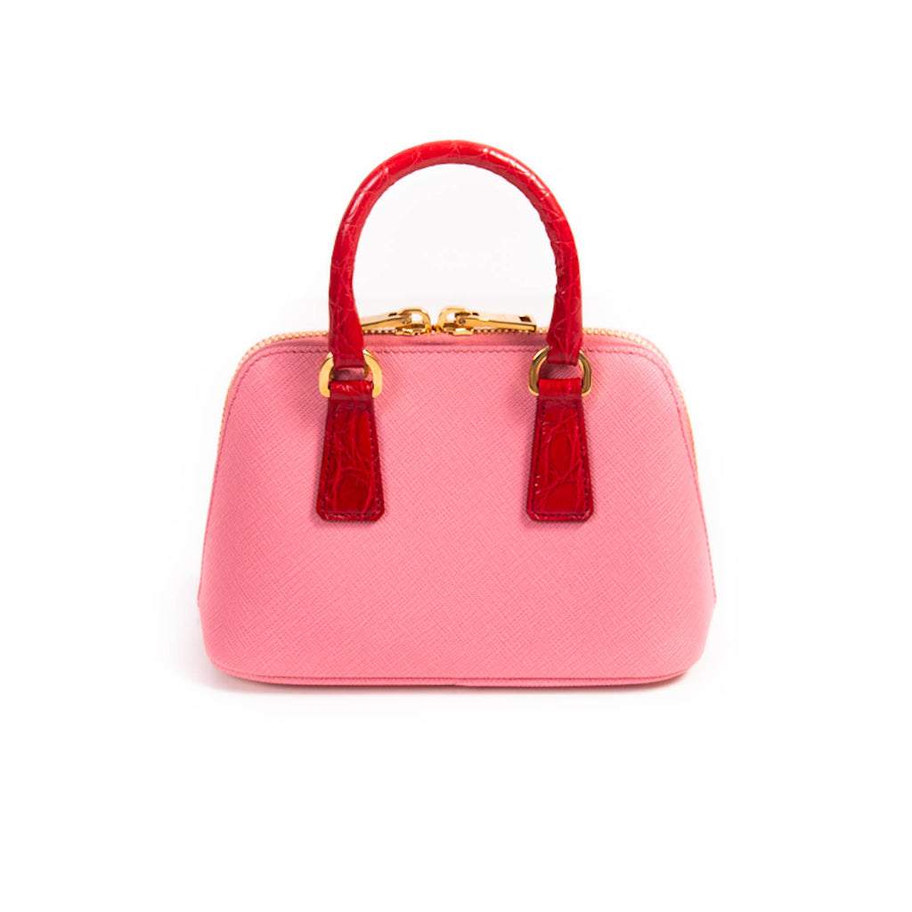 Prada Mini Saffiano Lux Promenade Bag Bags Prada - Shop authentic new pre-owned designer brands online at Re-Vogue