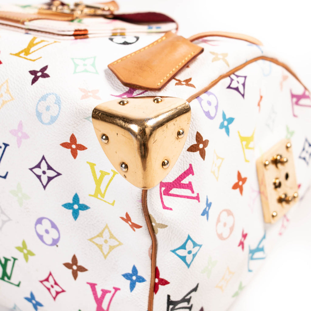Louis Vuitton Multicolor Murakami Speedy 30 Bags Louis Vuitton - Shop authentic new pre-owned designer brands online at Re-Vogue