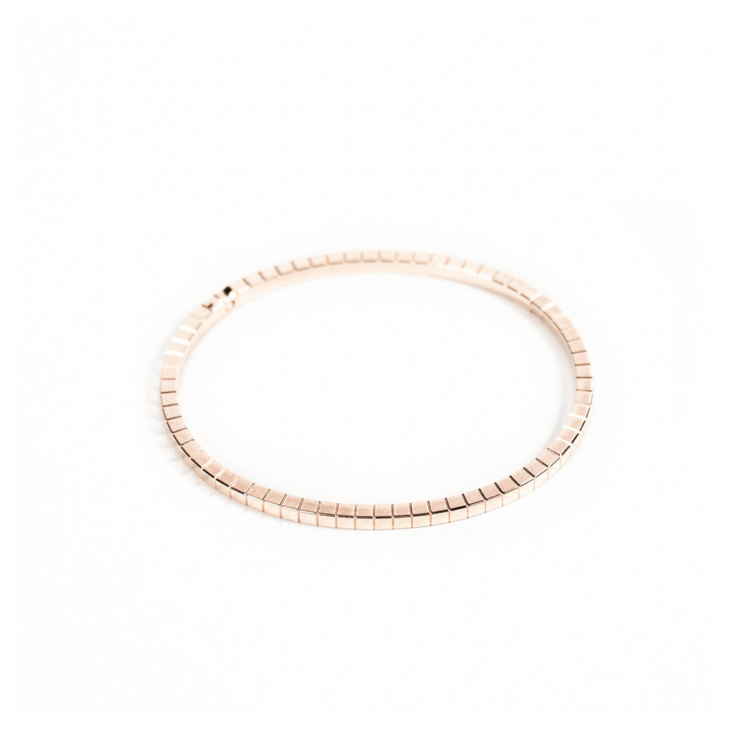 Chopard Ice Cube Rose Gold Bracelet Accessories Chopard - Shop authentic new pre-owned designer brands online at Re-Vogue