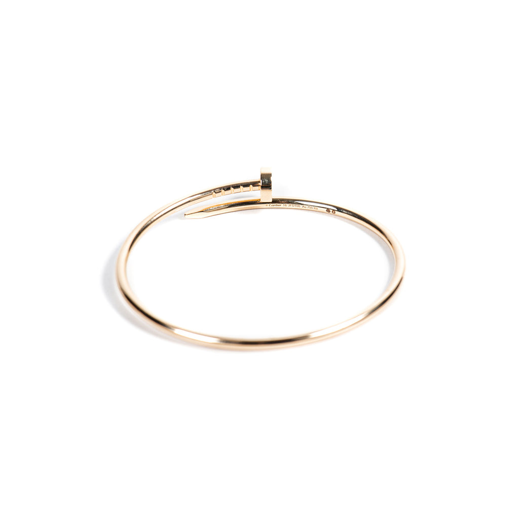 Cartier Yellow Gold Juste Un Clou Bracelet SM Accessories Cartier - Shop authentic new pre-owned designer brands online at Re-Vogue
