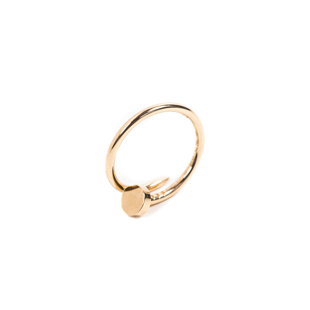 Cartier Juste Un Clou Yellow Gold Ring SM Accessories Cartier - Shop authentic new pre-owned designer brands online at Re-Vogue