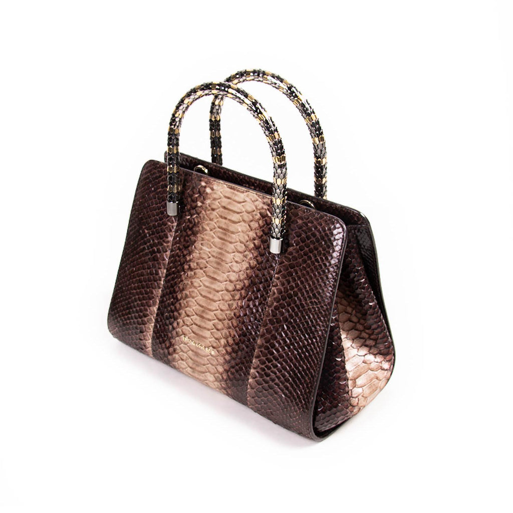 Bvlgari Serpenti Scaglie Shopping Bag Bags Bvlgari - Shop authentic new pre-owned designer brands online at Re-Vogue