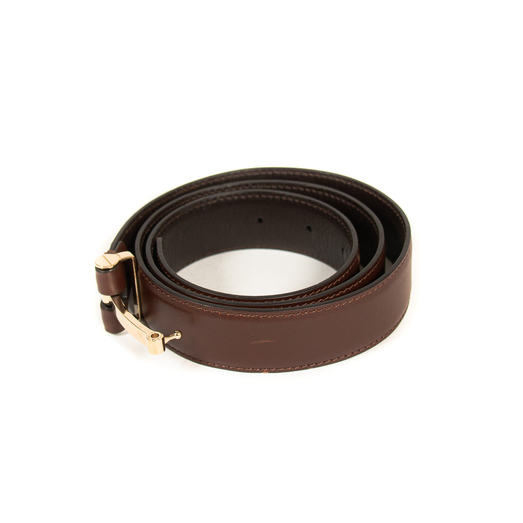 Tom Ford Logo Leather Belt Accessories Tom Ford - Shop authentic new pre-owned designer brands online at Re-Vogue