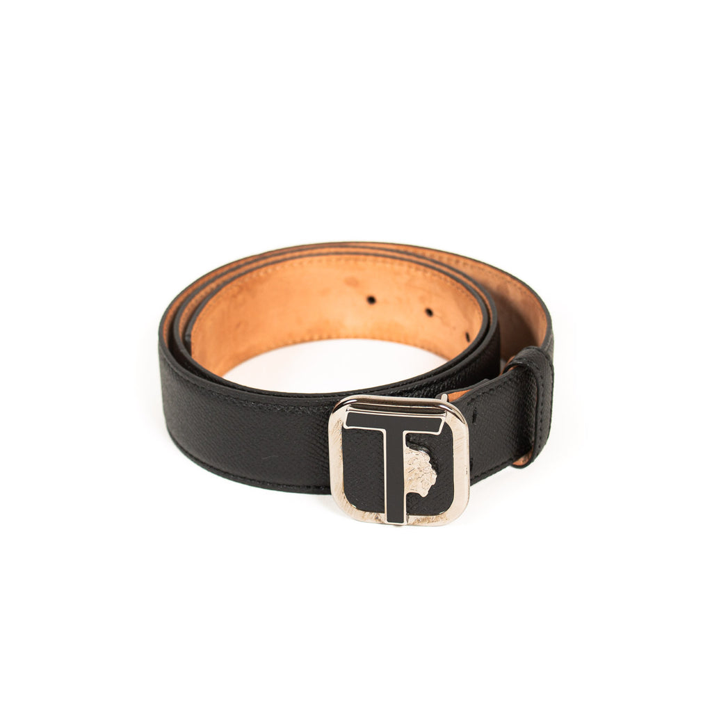 Tod's T Logo Leather Belt Accessories Tod's - Shop authentic new pre-owned designer brands online at Re-Vogue