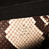 Louis Vuitton LockMe Snake Skin Small Shoulder Bag Bags Louis Vuitton - Shop authentic new pre-owned designer brands online at Re-Vogue