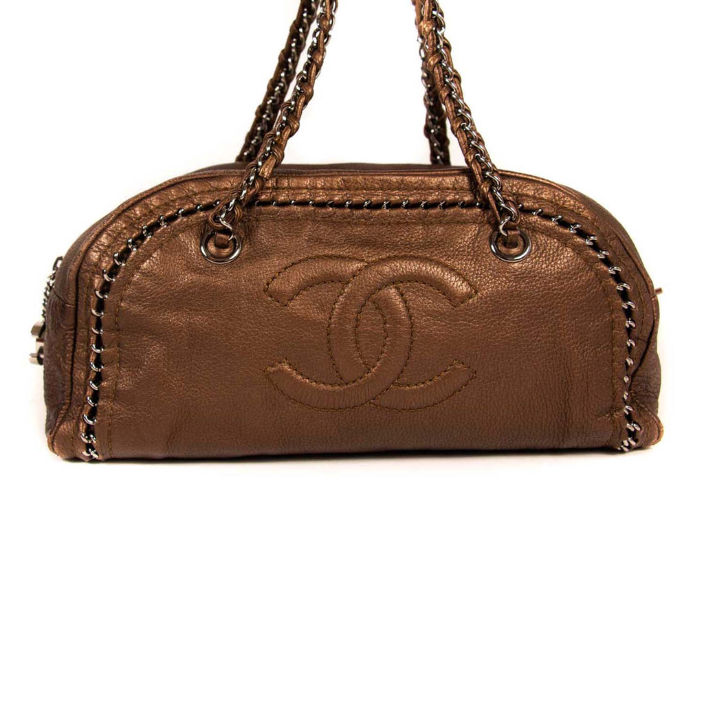 Chanel Luxe Ligne Bowler Bag Bags Chanel - Shop authentic new pre-owned designer brands online at Re-Vogue