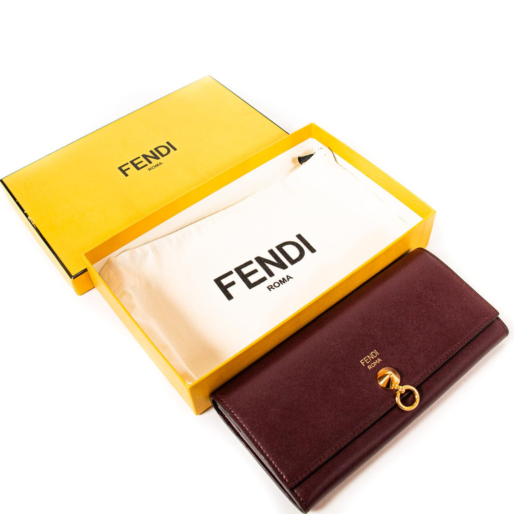 Fendi By The Way Continental Wallet Bags Fendi - Shop authentic new pre-owned designer brands online at Re-Vogue