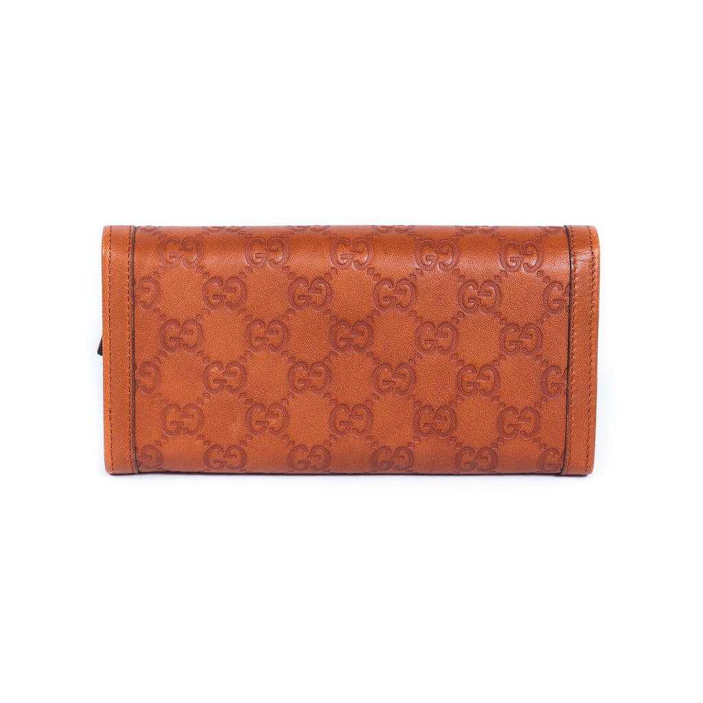 Gucci Guccissima Continental Wallet Bags Gucci - Shop authentic new pre-owned designer brands online at Re-Vogue