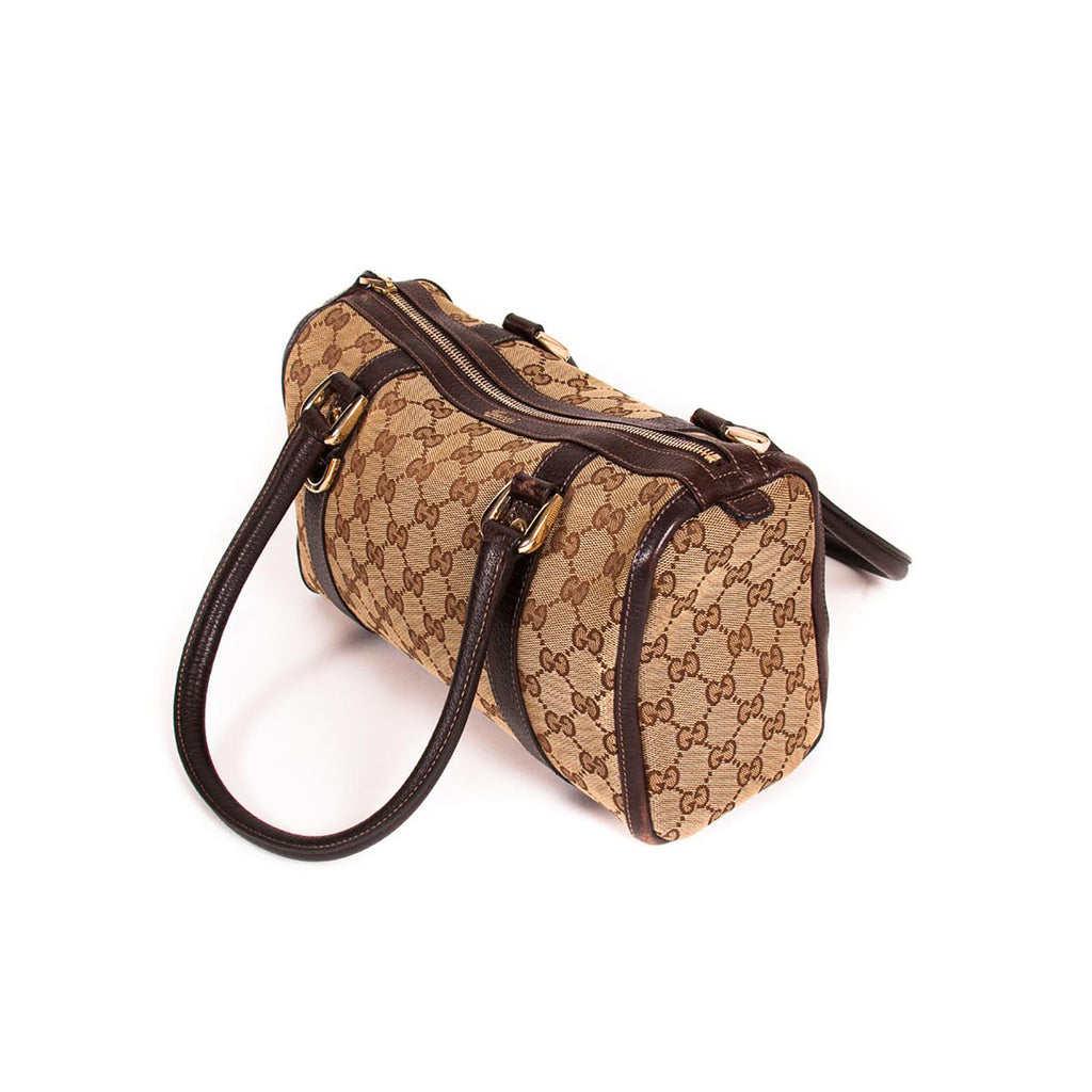 Gucci GG Canvas Boston Bag Bags Gucci - Shop authentic new pre-owned designer brands online at Re-Vogue
