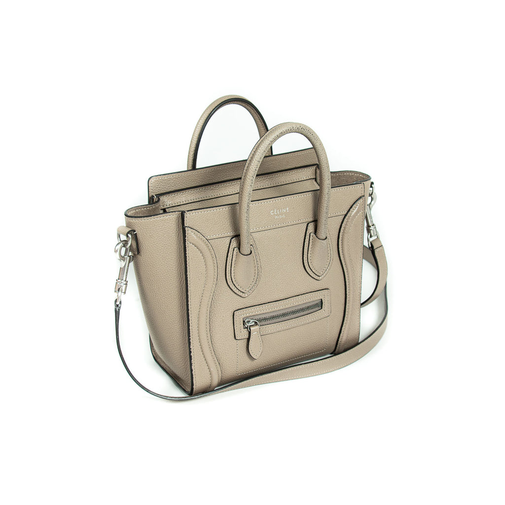Céline Nano Luggage Tote Bag Bags Celine - Shop authentic new pre-owned designer brands online at Re-Vogue