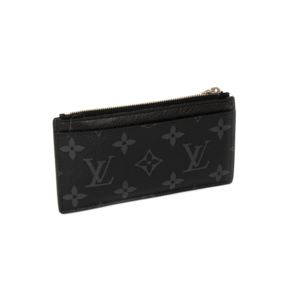 Louis Vuitton Monogram Eclipse Coin Card Holder