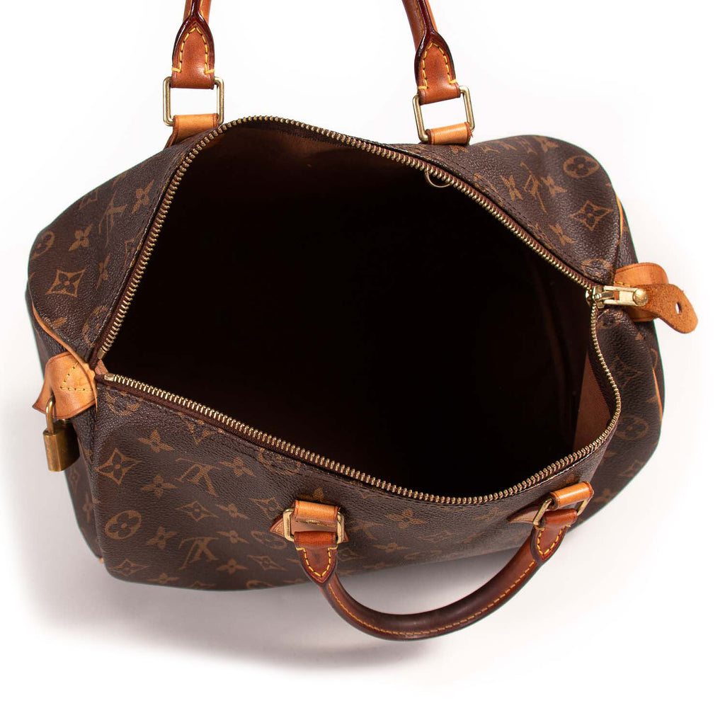 Louis Vuitton Monogram Speedy 35 Bags Louis Vuitton - Shop authentic new pre-owned designer brands online at Re-Vogue