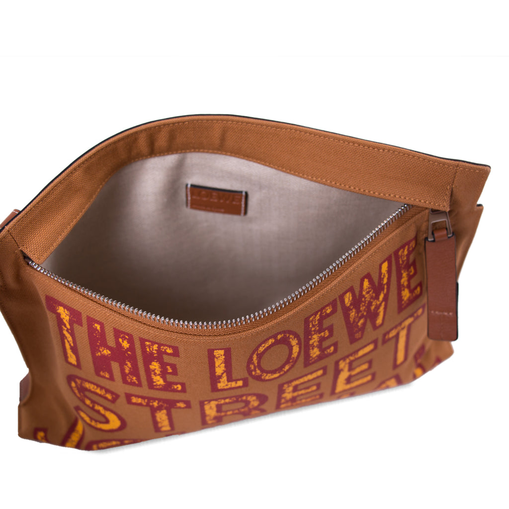 Loewe T Pouch Street Journal Bags Loewe - Shop authentic new pre-owned designer brands online at Re-Vogue