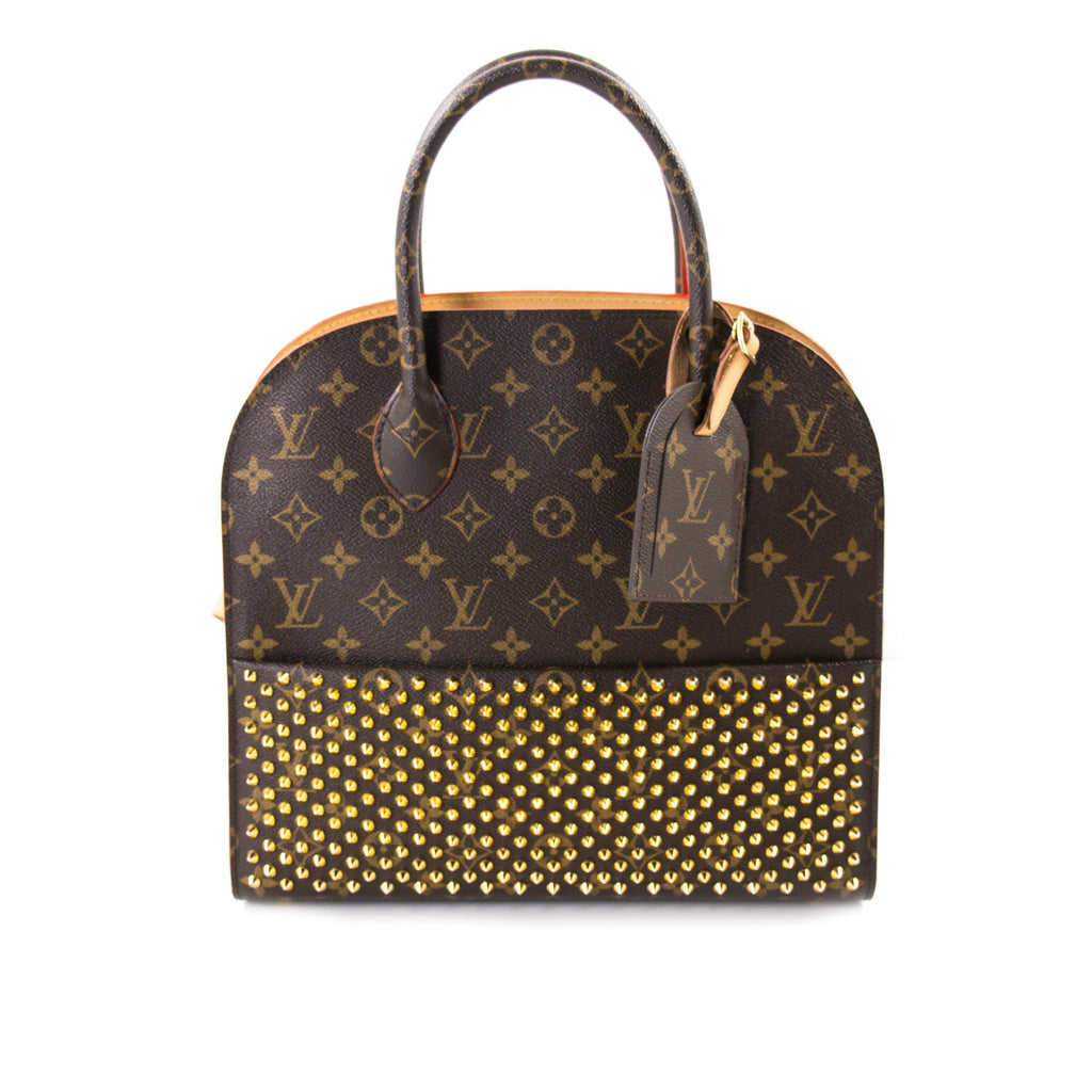 Shop Authentic Louis Vuitton Shopping Bag Christian Louboutin At ريڤوق For Just Usd 3 500 00