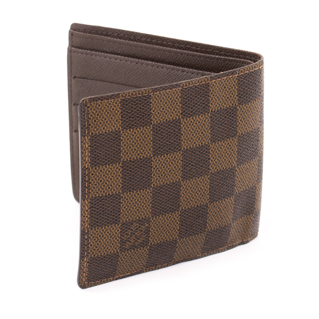 Louis Vuitton Damier Ebene Macro Wallet Accessories Louis Vuitton - Shop authentic new pre-owned designer brands online at Re-Vogue
