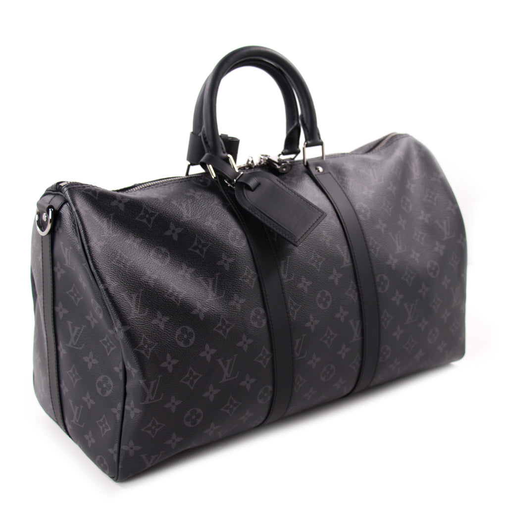 94c80498822f Louis Vuitton Eclipse Keepall 45 Bandouliere ... good quality 60104 14f11  ...