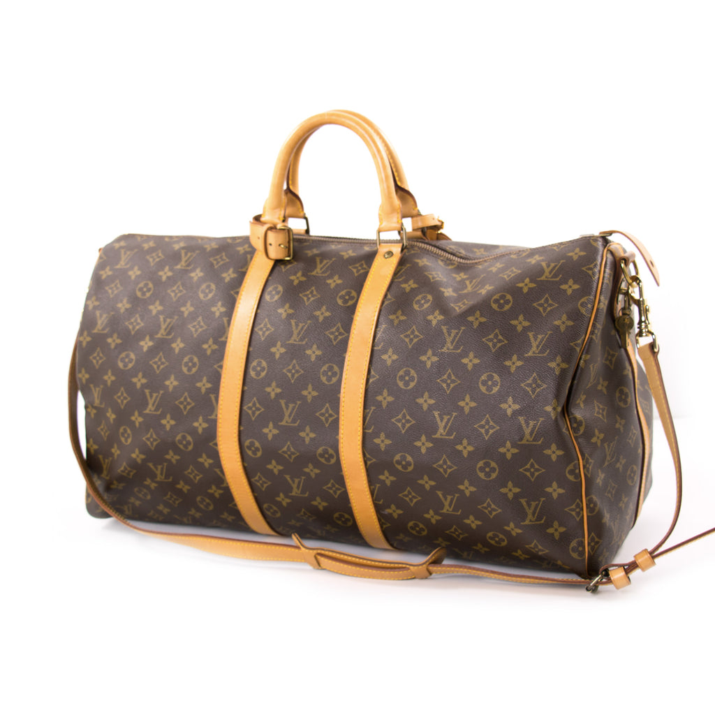 Louis Vuitton Monogram Keepall 55 Bags Louis Vuitton - Shop authentic new pre-owned designer brands online at Re-Vogue