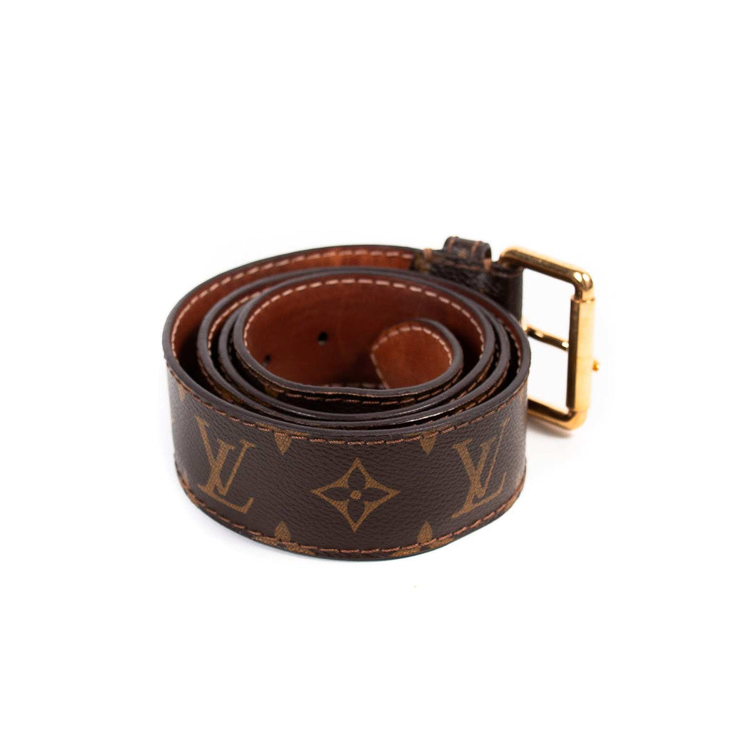 Louis Vuitton Monogram Buckle Belt Accessories Louis Vuitton - Shop authentic new pre-owned designer brands online at Re-Vogue