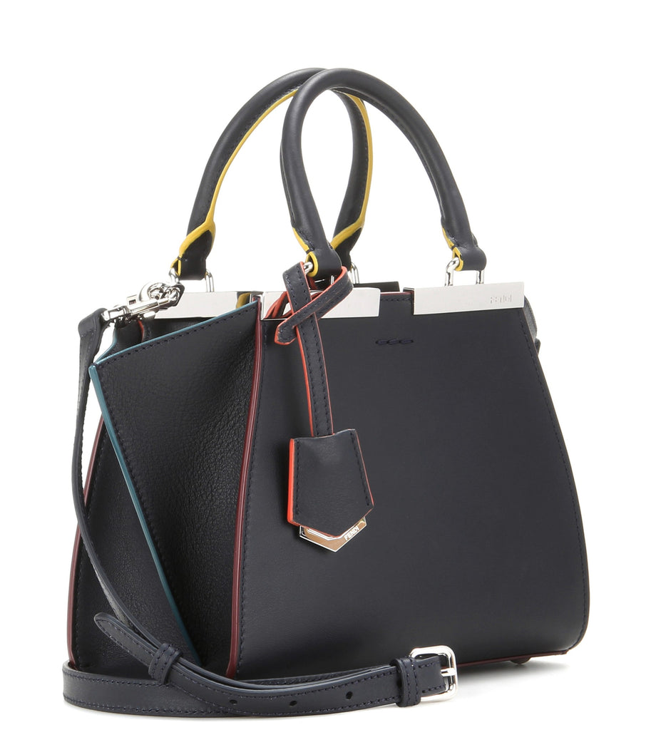 Fendi 3Jours Mini Leather Tote Bags Fendi - Shop authentic new pre-owned designer brands online at Re-Vogue