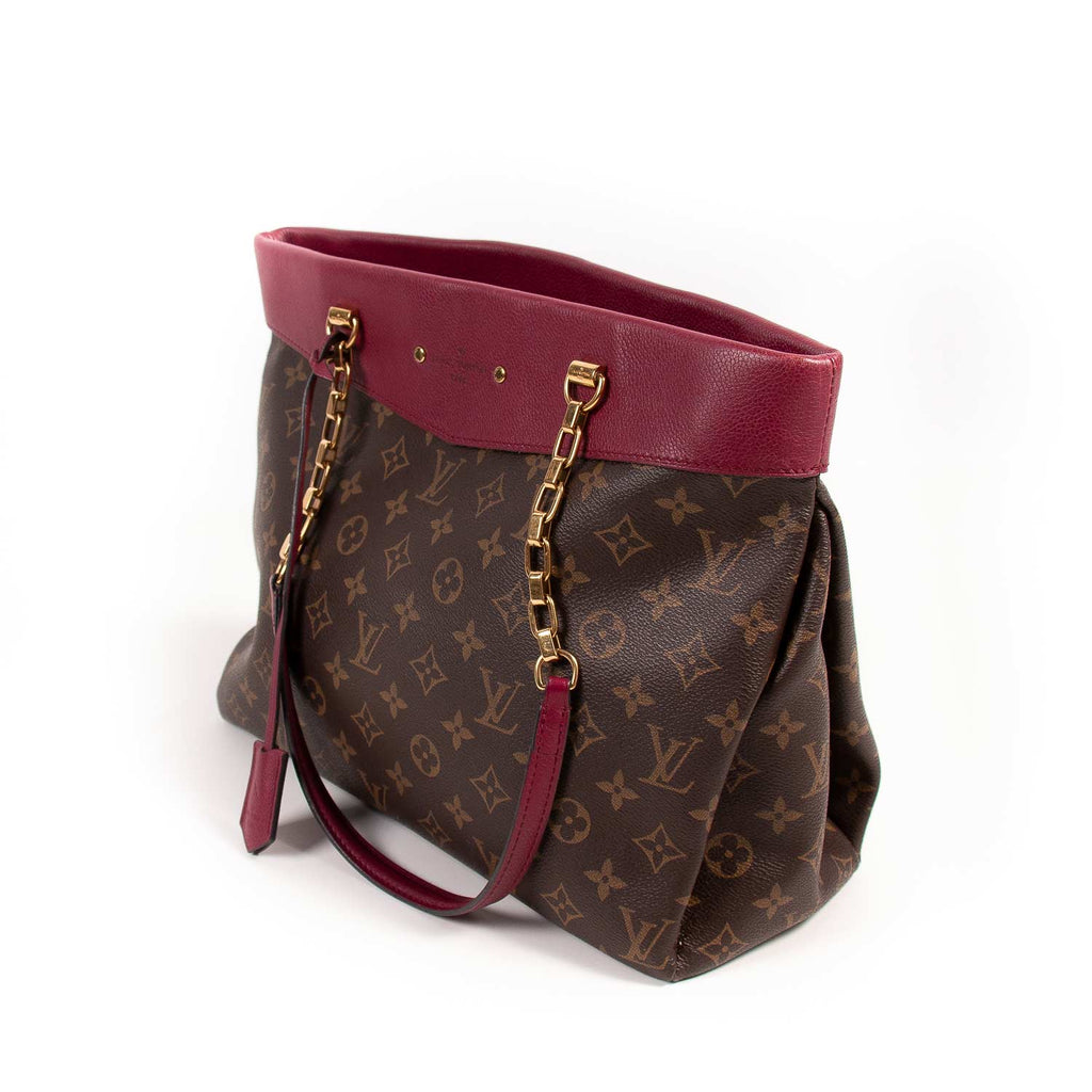 Louis Vuitton Monogram Pallas Shopper Bag Bags Louis Vuitton - Shop authentic new pre-owned designer brands online at Re-Vogue