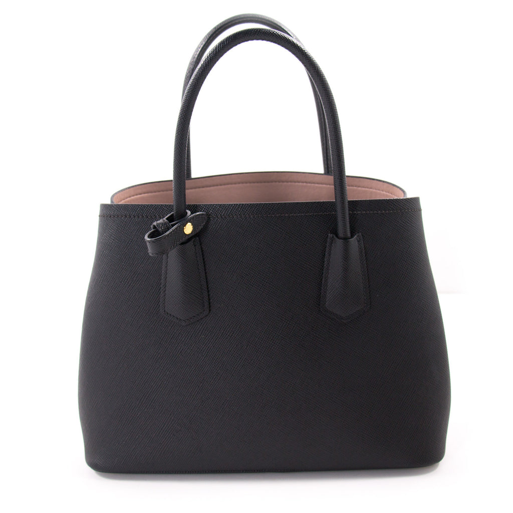 Prada Saffiano Double Bag Tote Bags Prada - Shop authentic new pre-owned designer brands online at Re-Vogue