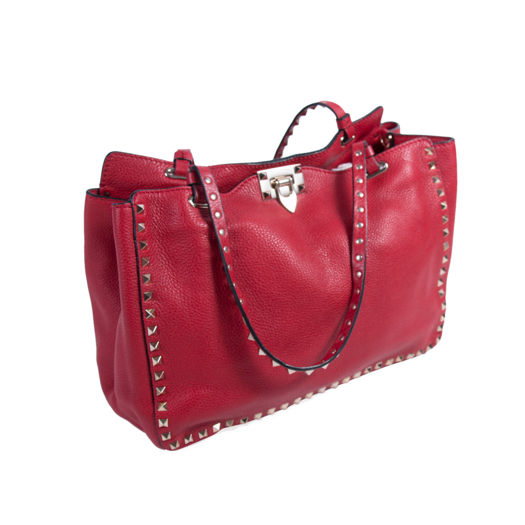 Valentino Medium Rockstud Tote Bag Bags Valentino - Shop authentic new pre-owned designer brands online at Re-Vogue
